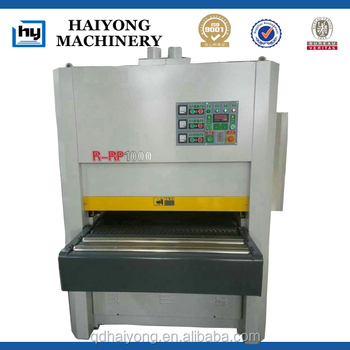 R-rp1000 Heavy Duty Wide Belt Sanding Machine