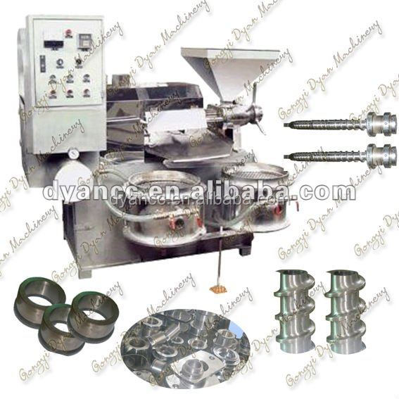 Manufacture Full Automatic Screw Combined olive Oil Press Machine
