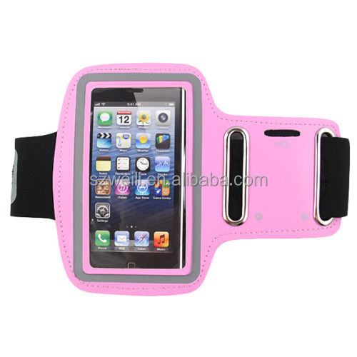 Premium Running Jogging Sports GYM Armband Case Cover Holder for iPhone 5s 5 5c