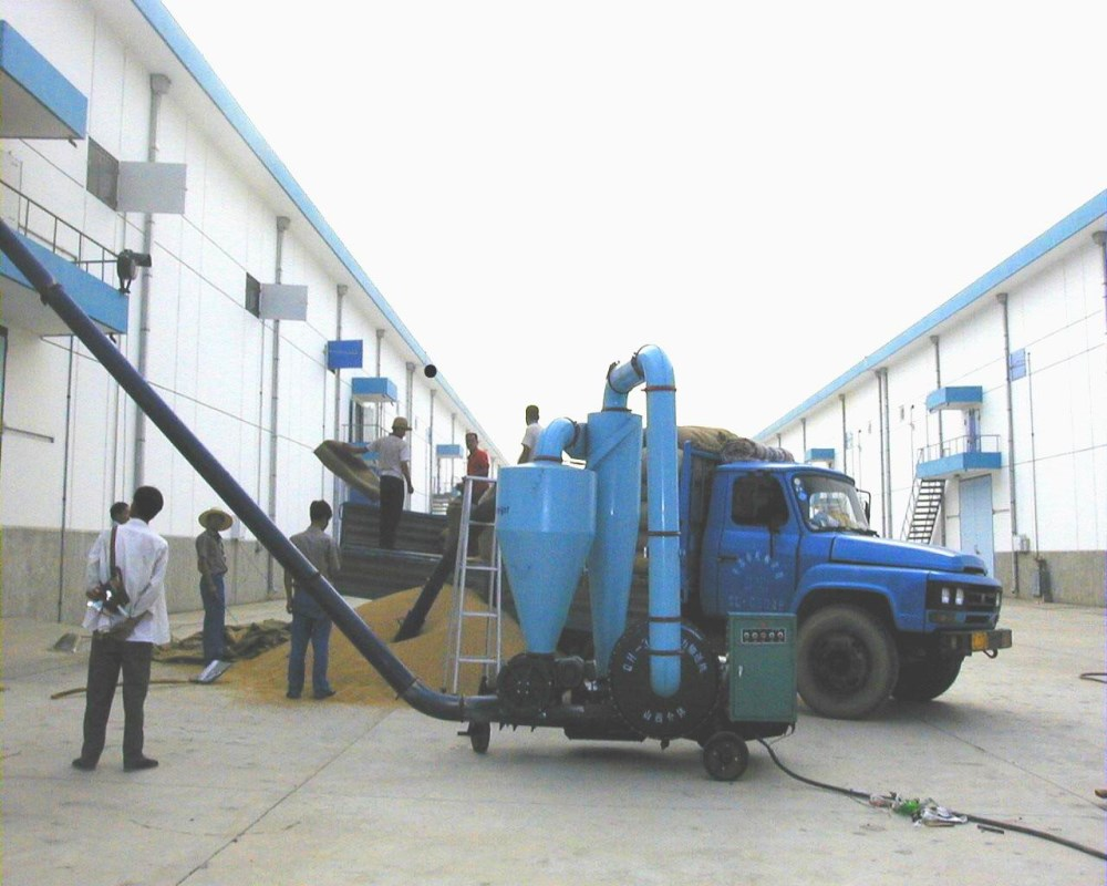 2017 Alibaba Trade Assurance Mobile Ship Loader Air Blower Grain Pneumatic Conveyor For Sale
