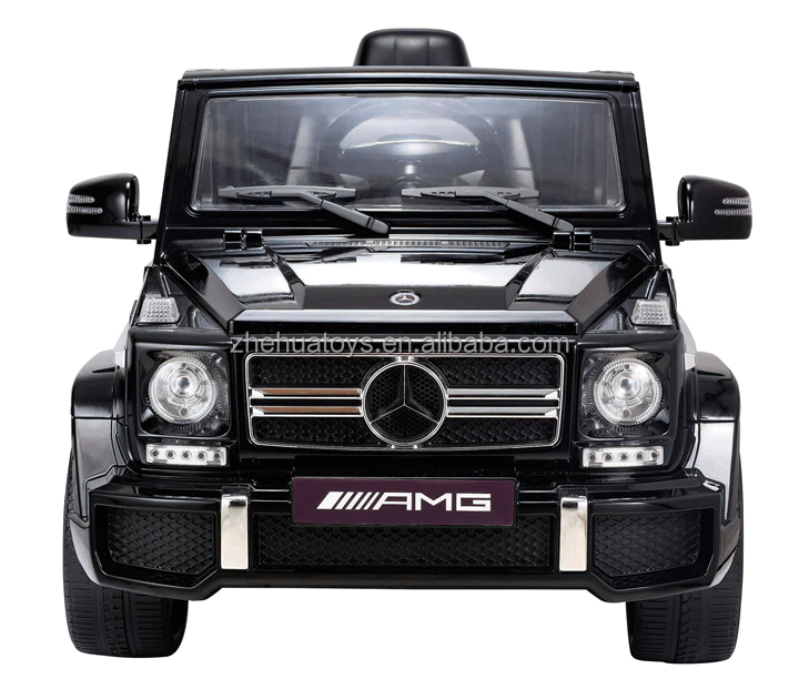 Remote control licensed ride on car mercedes benz g63 with for Mercedes benz car battery