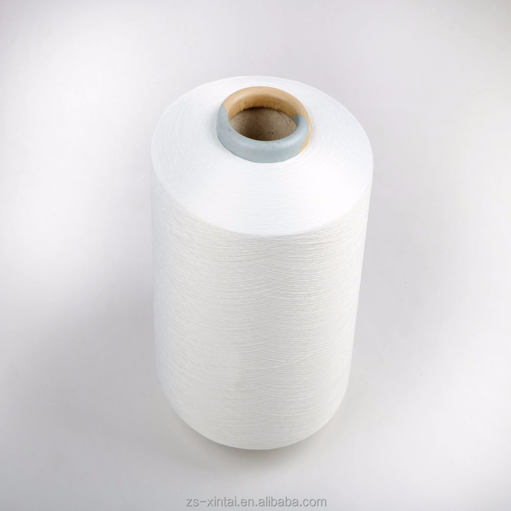 China alibaba low price polyester/spandex covered yarn for knitting/weaving