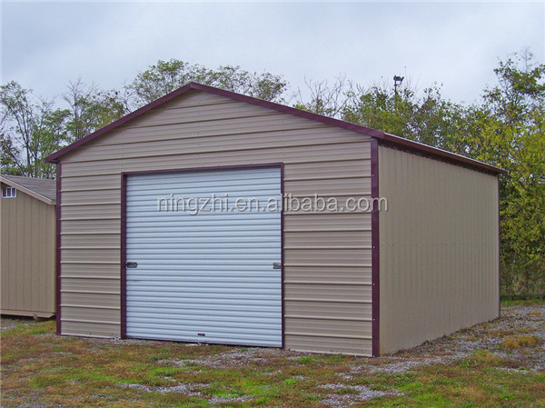Portable Metal Garage Prefabricated Steel Structure
