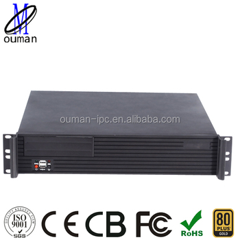 Wholesale 2U 19 inch rack server chassis/Storage/Application ...