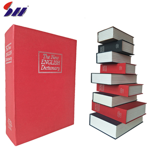 Plastic White Page And Steel Hard Paper Book Safe Box