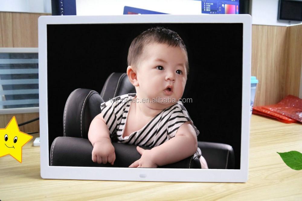 Venta al por mayor gran pantalla de marco de fotos digital-Compre ...