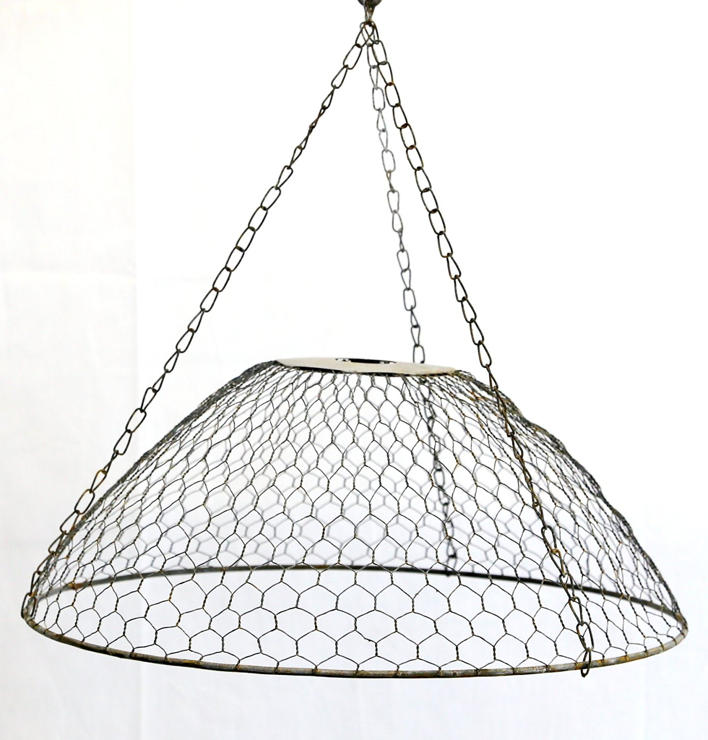 Buy Gray Zinc Chicken Wire Lamp Shade in Cheap Price on Alibaba.com