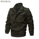 TONGYANG Military Bomber Men Jackets Tactical Outwear Breathable Light Windbreaker Plus Size Jackets