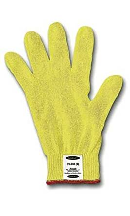 9 GoldKnit Light Weight Kevlar String Knit Ambidextrous Cut Resistant Gloves