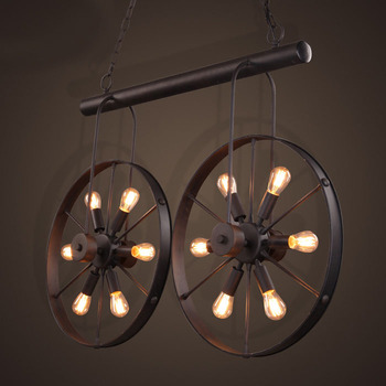 Creativity Iron Retro Vintage Contemporary Lighting Chandeliers For Clothing Chandelier