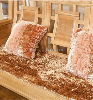 China Factory 100 Polyester Washable Shaggy Door Carpets