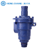 Cast iron pipe and fittings quick connect swivel-valve steam flange joint