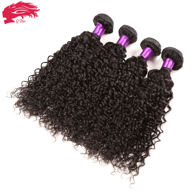 Mongolian Kinky Curly Hair With Closure 4 Bundles With Closure Grade 7A Mongolian Afro Kinky Curly Virgin Hair Human Hair Weave