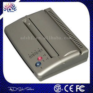 Silver USB tattoo thermal copier machine, flash tattoo copier
