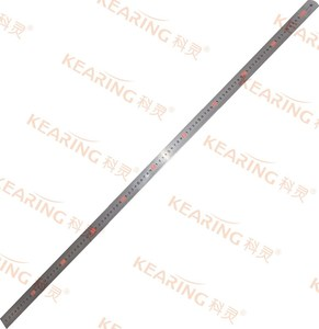 Chinese Manufacturer OEM flexible metric 100cm length Stainless Steel Ruler, 1.2mm thickness engineer steel ruler # SS100