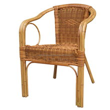 Natural Bamboo Look Finish Rattan Chair Bamboo Chair