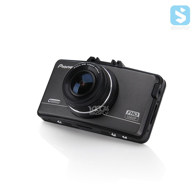Pioneer dvr 2.7 inch LCD dash cam 1080p car driving recorder