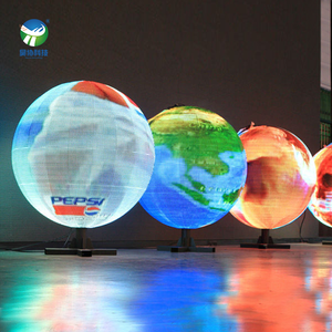 Thailand round Led display/ led display ball /led sphere display Harse