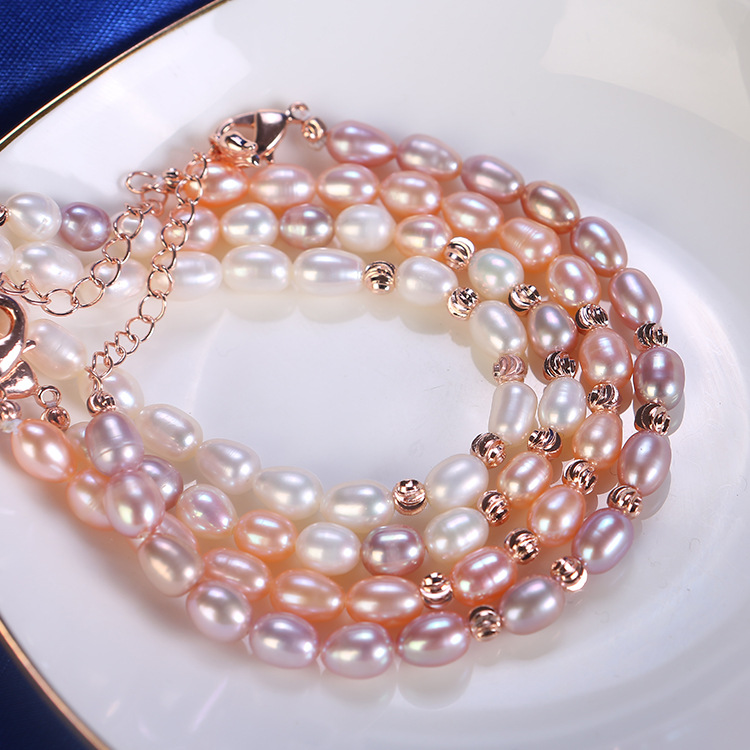 Wholesale pearl jewelry freshwater mother of pearl bracelet