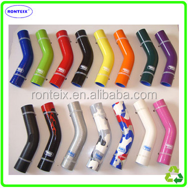 China Supplier Samco Silicone Hose / Silicone Elbow Rubber Hose