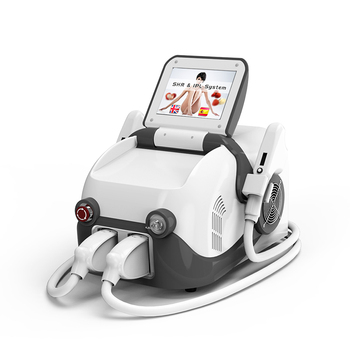 e-light ipl shr nd yag laser rf beauty machine with hair removal shr ipl