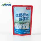 Doypack standing up pouch Efficient cleaning Liquid zipper or spout pouch custom Packaging Plastic Bag