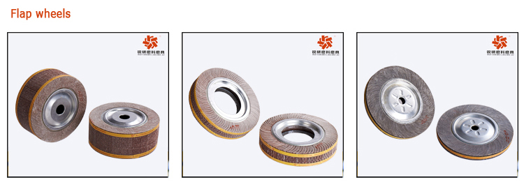 WX713 Abrasive Flap Wheel for Polishing Stainless steel/Aluminum/ Metal
