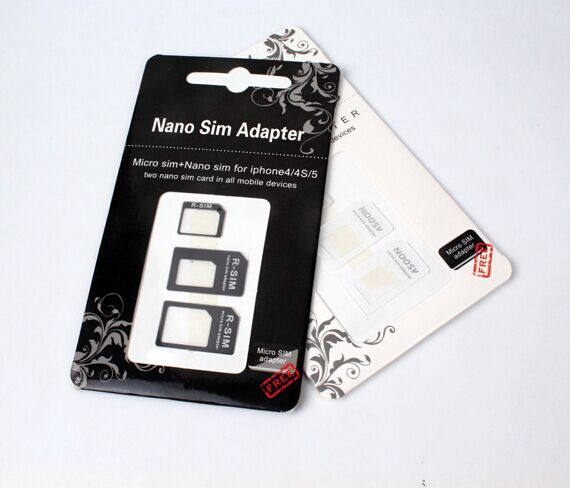 SIM adapter for big and small SIM card