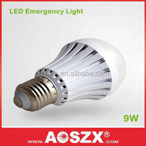 2800mAh Battery Rechargeable Battery back up 9W Emergency LED light <strong>bulb</strong>