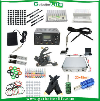 Getbetterlife Professional Supply Full Set Customized Fake Tattoo Kit