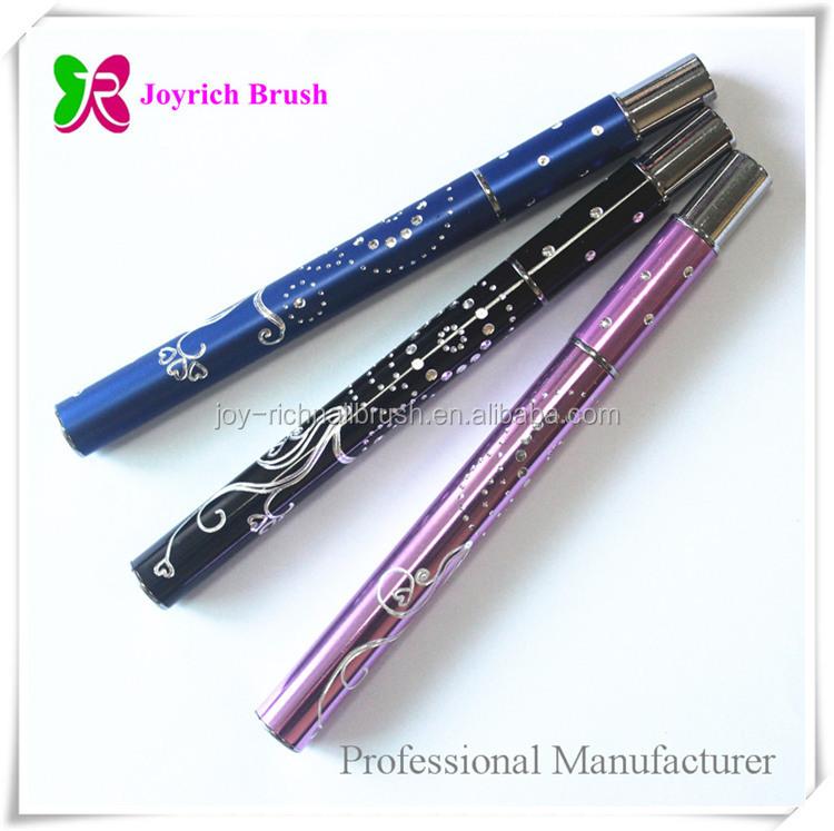 Whosale Diamond Metal Handle Acrylic Nails Design 100% Kolinsky Nail ...