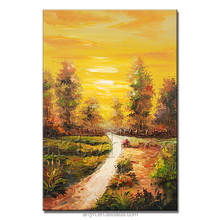 Pallet Knife Modern Handmade Famous Nature Paintings