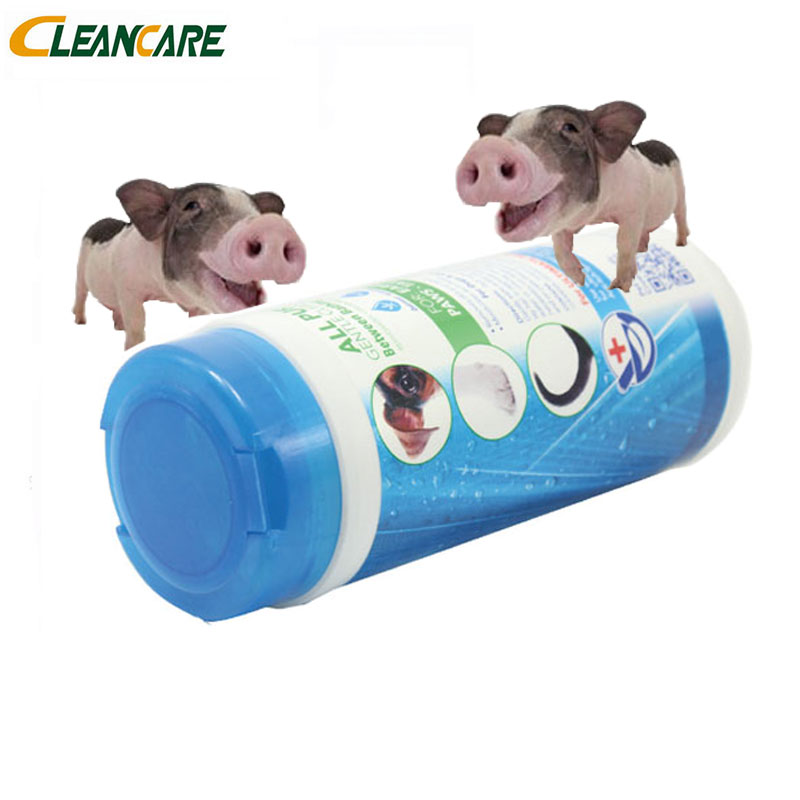 Ear and eye pet cleaning wet wipes with good quality