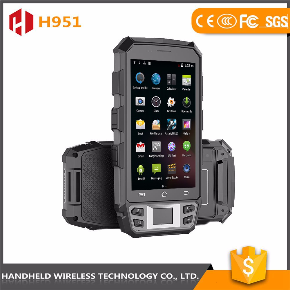 Trade assurance wireless 5inch hanaheld rugged ip65 mobile android pda factory
