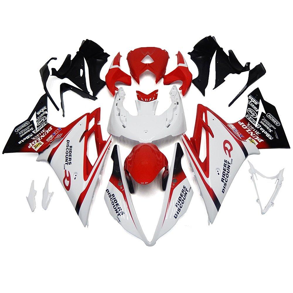 Sportfairings Complete Fairing Kits For Triumph Daytona 675 2013 2014 2015 ABS Plastic Motorcycle Bodywork White Red Full Covers