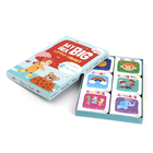 High quality children card board book set printing services/Mini book printing