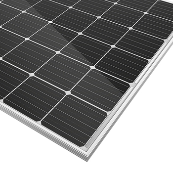 Highly efficient and suitable price mono 100w Home Made Solar Panel Parts