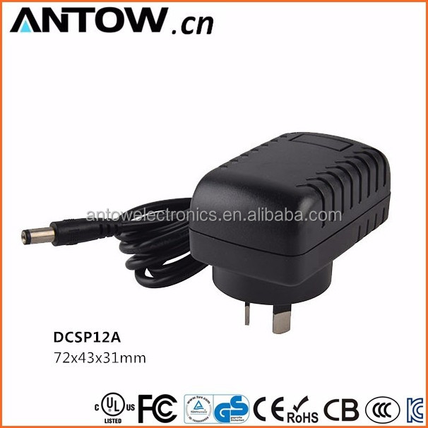 Specialized 12v 100ma 0.1a ac power adapter with KC/UL/CE/ROHS Approved