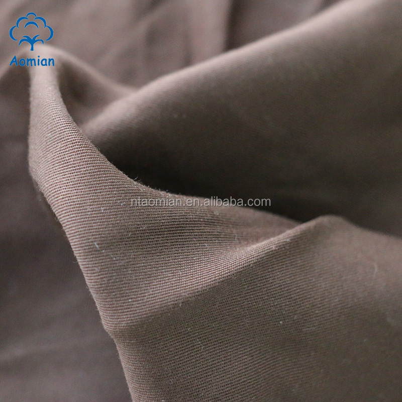 wide width dyed fabric roll 100% bamboo fiber for sale