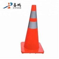 70cm Hot Sale PVC Reflective Warning Road Safety Traffic Cone