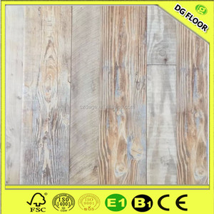 Residential/commercial anti-scratch 12mm wood commercial floating flooring