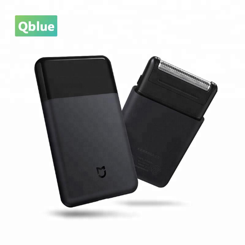 Xiaomi Mi Home USB Rechargeable Portable Electric Shaver Black Color Low Noise Men Dry Clean Shaver