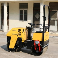 Construction Equipment Two Wheels Mini Road Roller