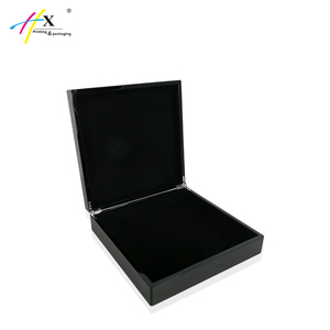 OEM Black High Glossy General Carbon Fiber Wooden Gift Box