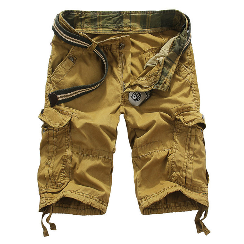 Brand Mens Cargo Shorts Camouflage Big Size Casual Camo Fitness Summer Sports Shorts Masculino With Pockets Mens Military Short