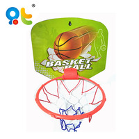 Colorful mini kids portable plastic basketball training equipment small basketball board