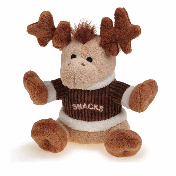 Wholesale stuffed plush moose toy for Christmas