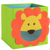 Fabric foldable square animals design storage box