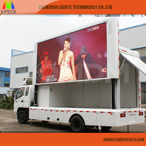 P8mm Electronic LED Moving Message Boards Programmable Scrolling LED Signs