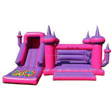 Optional Color inflatable bouncy castle with water slide bounce Inflatable trampoline